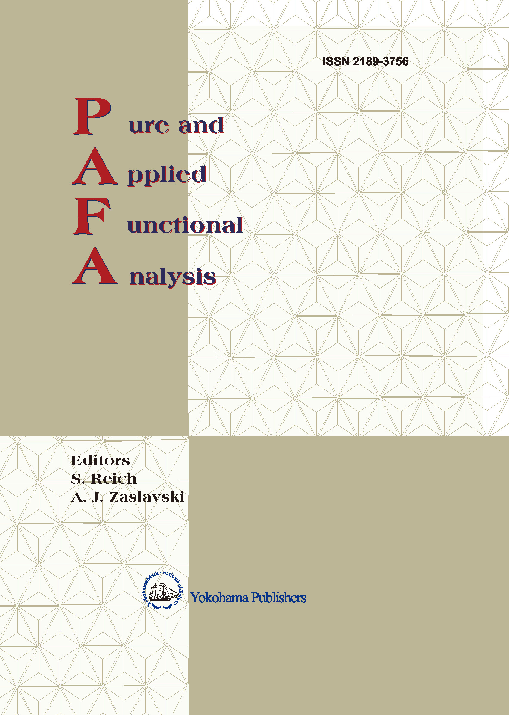 Pure and Applied Functional Analysis